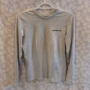 Calvin Klein Jeans Brand Long Sleeve Shirt